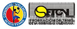 BEACH TENNIS COMUNIDAD VALENCIANA Logo